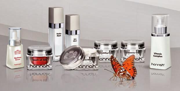hannah producten voor het herstellen van de huid