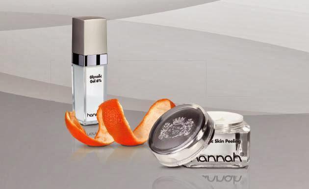 hannah producten voor peelen van de huid